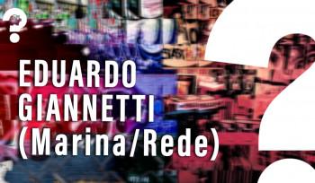 Entrevista com Eduardo Giannetti, economista de Marina Silva (Rede)