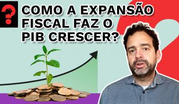 Como a expansão fiscal faz o PIB crescer? | Fala, Dudu! # 106