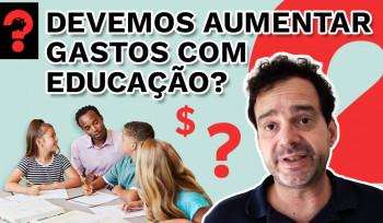 Devemos aumentar os gastos com educação? | Fala, Dudu! # 78