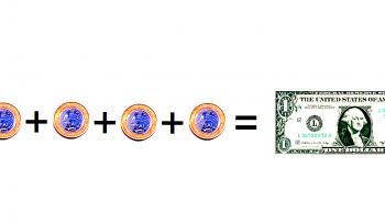 Por que 1 dólar custa 4 reais?