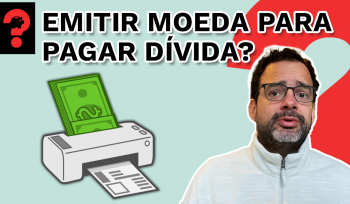 Emitir moeda para pagar dívida? | Fala, Dudu! # 120