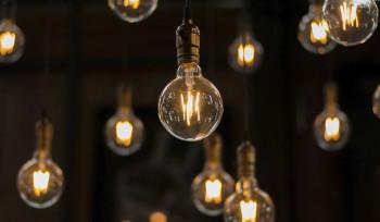O cartel da lâmpada