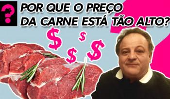 Por que o preço da carne está tão alto? | Economia está em tudo! # 79