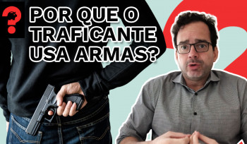Por que o traficante usa armas? | Fala, Dudu! # 86