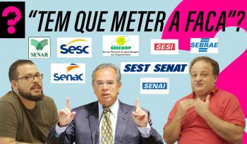 Bolsonaro vai acabar com o Sistema S? | Economia é Tudo! #37