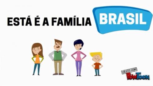 #VCnoPQ: Conheça a Família Brasil